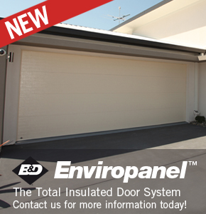 Enviropanel Insulated Panel Lift Garage Door